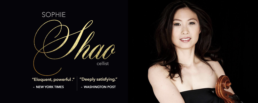 Sophie Shao - Cello
